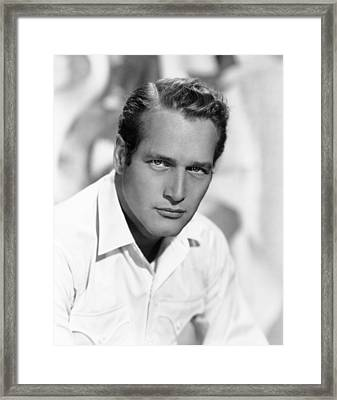 Hud, Paul Newman, 1963 Framed Print
