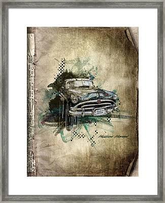 Hudson Hornet Framed Print by Svetlana Sewell