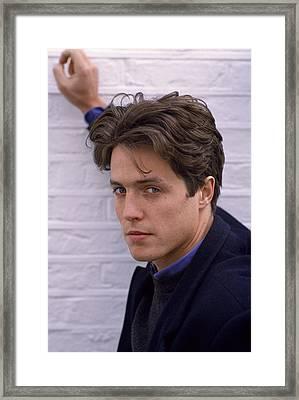 Hugh Grant Framed Print