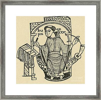 Hugo Pictor Framed Print by Photo Researchers