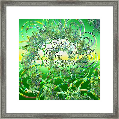 Hula Framed Print by Betsy Knapp