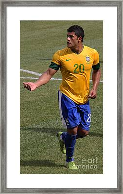 Hulk Give Me The Ball Framed Print by Lee Dos Santos