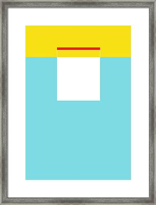 Hulo Framed Print by Naxart Studio