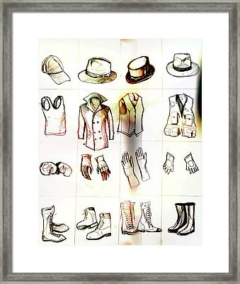 Human Presence Without Human Form Framed Print