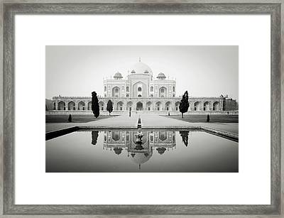 Humayun Tomb Framed Print by Dhmig Photography