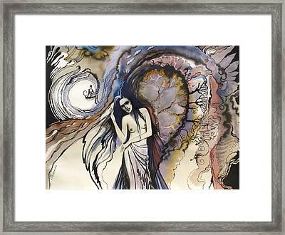 Framed Print featuring the painting Humgat by Valentina Plishchina