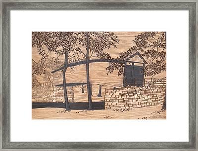 Humpback Covered Bridge Framed Print by Stan Shirk