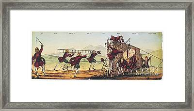 Humpty Dumpty, 1843 Framed Print by Granger