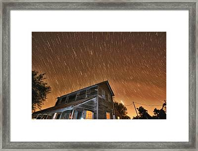 Hundred Years Of Solitude Ellinger Texas Framed Print by Silvio Ligutti