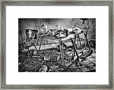 Hungry Helpers Framed Print by Empty Wall