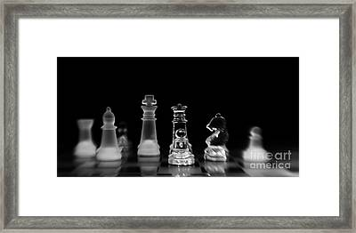 Hunt For The King Framed Print