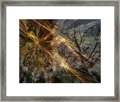 Hunter Framed Print by EricaMaxine  Price