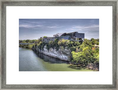 Hunter Museum  Framed Print by David Troxel