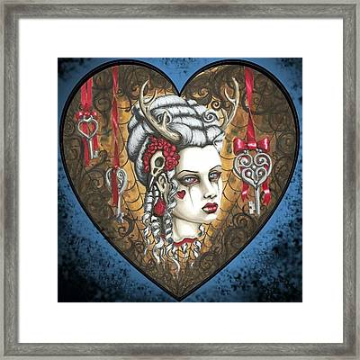 Hunter's Kiss Framed Print