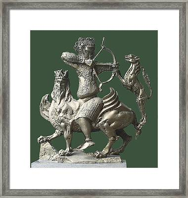 Hunting Scene 2 Framed Print by Zlatan Stoilov