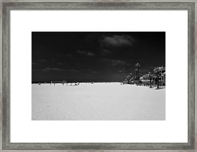 Huntington Beach Framed Print by Ralf Kaiser