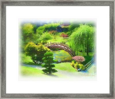 Huntington Botanical Gardens Framed Print by Dawn Serkin