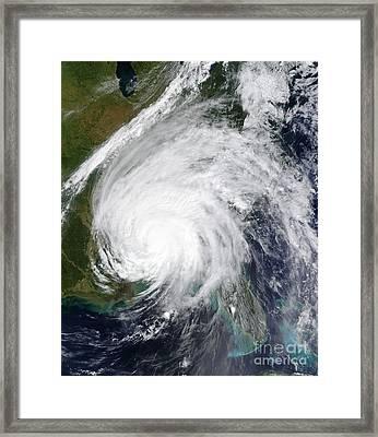 Hurricane Ivan Framed Print by Stocktrek Images