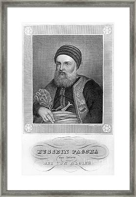 Hussein Dey (1765-1838) Framed Print by Granger