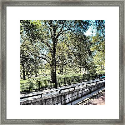 #hydepark #hydeparkcorner #london2012 Framed Print