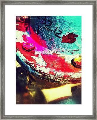 Hydrant 32 Framed Print by Olivier Calas