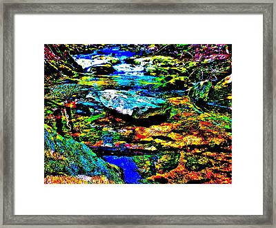 Hyper Childs Brook Z 52 Framed Print by George Ramos