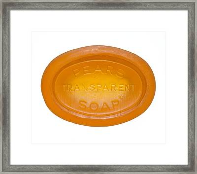 Hypo-allergenic Soap Framed Print by Mark Sykes