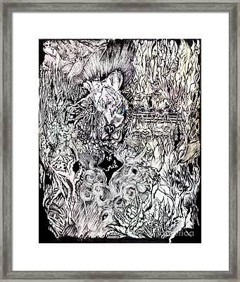 Hysteria Framed Print