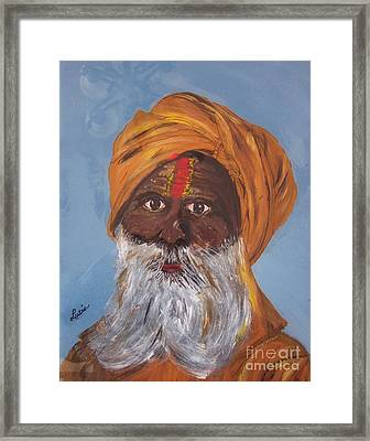 I Am A Sikh Framed Print