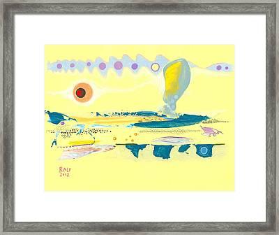 I Am Curious Yellow Framed Print by Ralf Schulze
