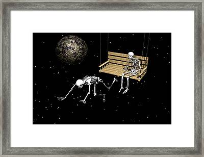 I Am Leaving You Framed Print by Claude McCoy