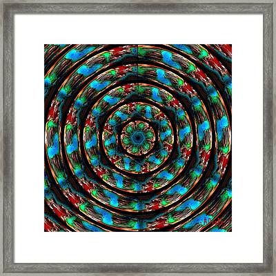 I Am Looking Through You Framed Print by Alec Drake