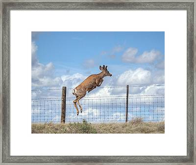 I Am Outta Here Framed Print