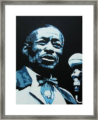 I Am The Blues Framed Print