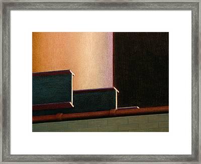 I-beam Framed Print by Norm Holmberg
