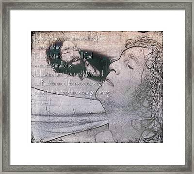 I Believe _ John Lennon Framed Print