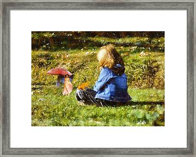 I Believe In Fairies Framed Print