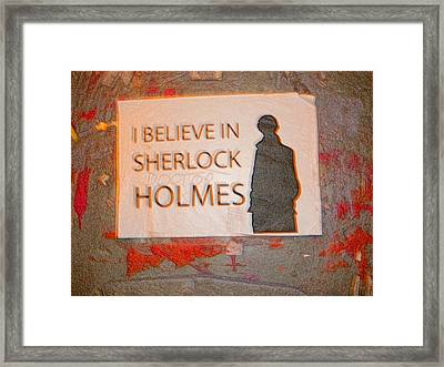 I Believe Framed Print by Todd Breitling