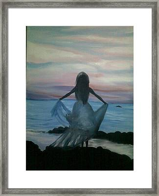 I Can Fly Framed Print by Navjeet Gill