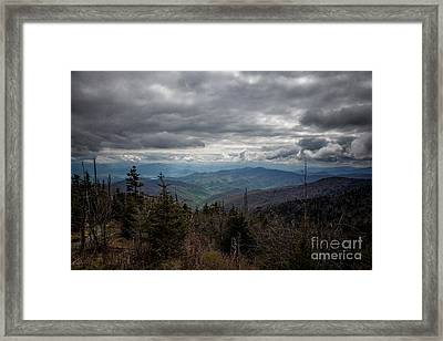 I Can See For Miles Framed Print