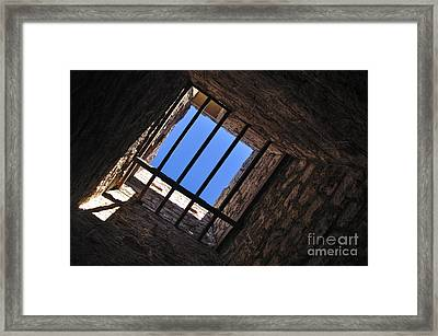 I Can See The Light Framed Print by Kaye Menner