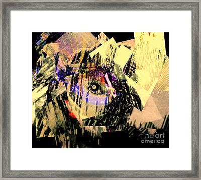 I Crumble Before Him Framed Print by Fania Simon