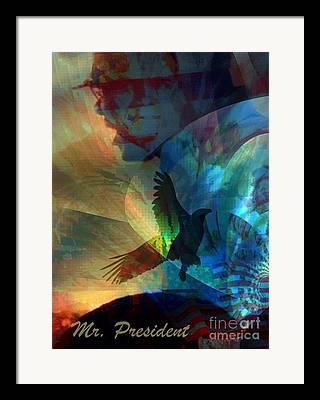 Toussaint Louverture Mixed Media Framed Prints
