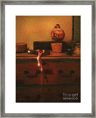I Do Love Pearls Framed Print by RC deWinter