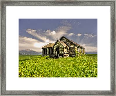 I Dont Know Idaho Framed Print by Gregory Dyer