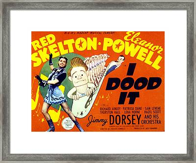 I Dood It, Aka By Hook Or By Crook Framed Print by Everett