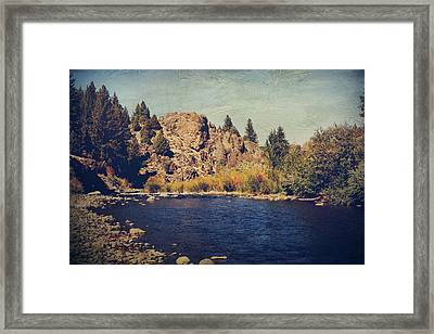 I Drift Away Framed Print by Laurie Search