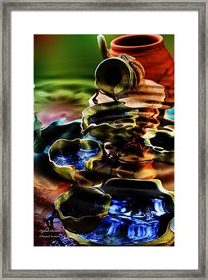 Framed Print featuring the photograph I Flow by Itzhak Richter