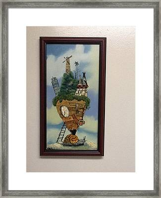 I Forgot Time Framed Print by Carlos Rodriguez Yorde