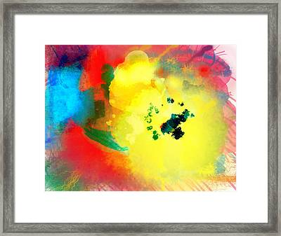 I Just Looked Up Framed Print